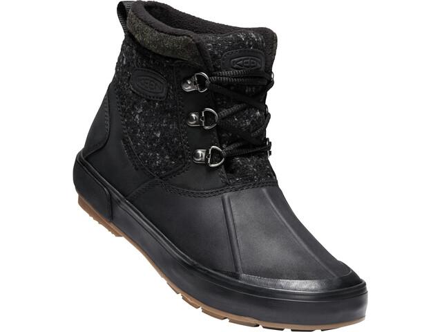Keen Elsa II Ankle Wool WP Kengät Naiset, black/raven